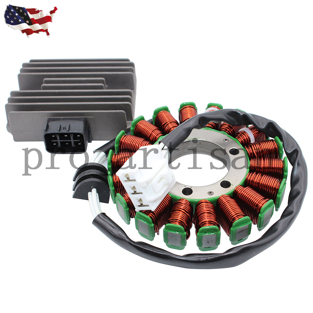 Details about New Kit Stator + Voltage Regulator Rectifier F 2006-2017  YAMAHA R6 YZF-R6 YZFR6