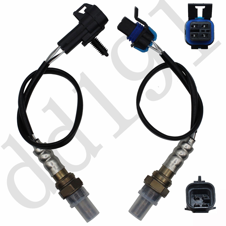 Oxygen O2 Sensor Upstream /& Downstream For 2004-2007 Pontiac Grand Prix 3.8L