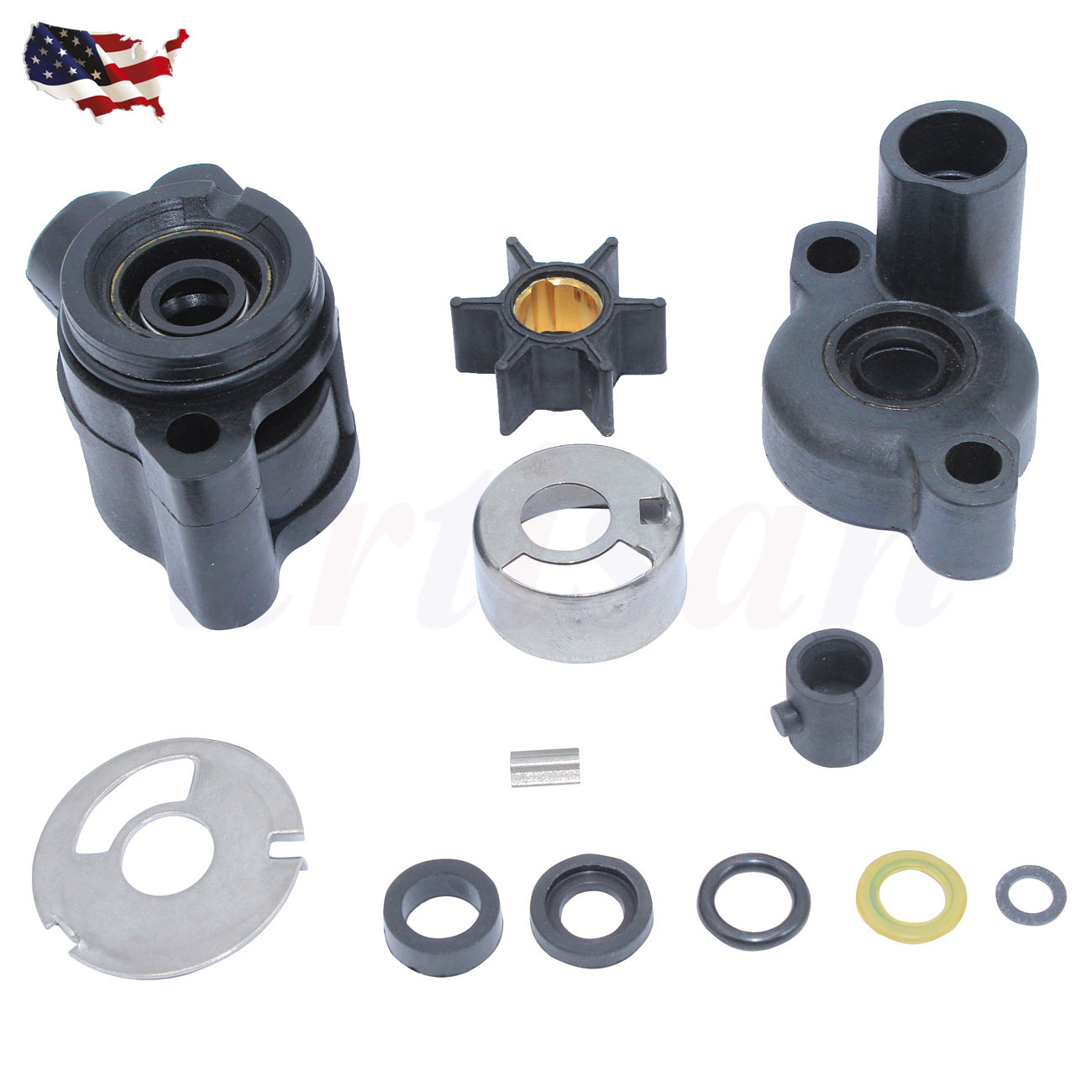Mercury Marine//Mercruiser New OEM WATER PUMP KIT 46-70941A3