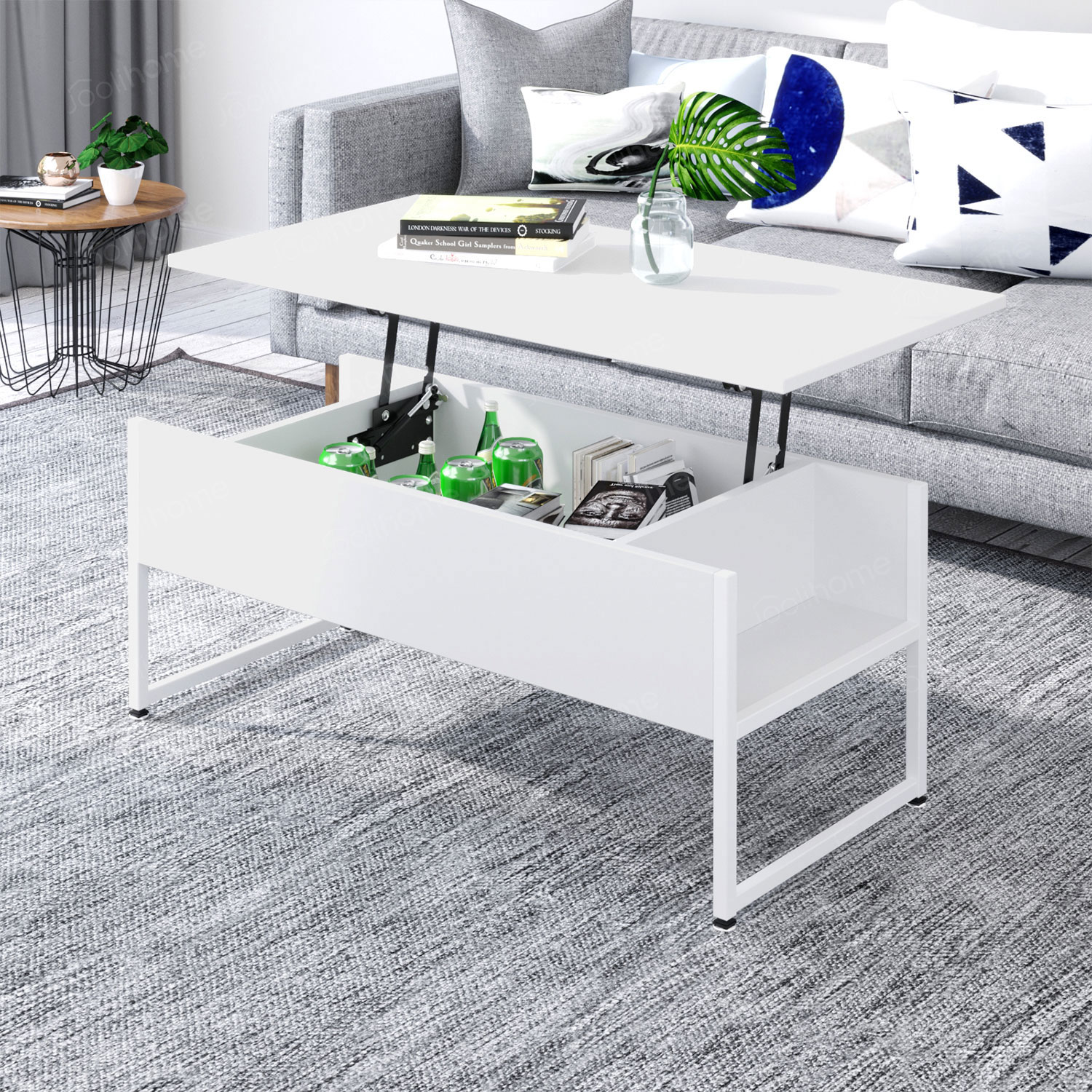 Foldable Coffee Table Dining Table Laptop Office Desk ...