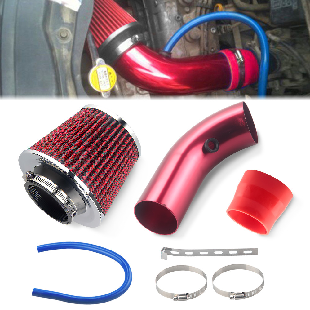 "RED 1999 UNIVERSAL 64mm 2.5/"" SMALL  AIR INTAKE FILTER"