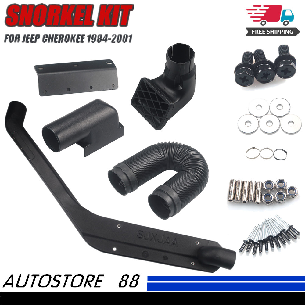 For 1984-2001 Jeep Cherokee Air Intake System Rolling Head Kit