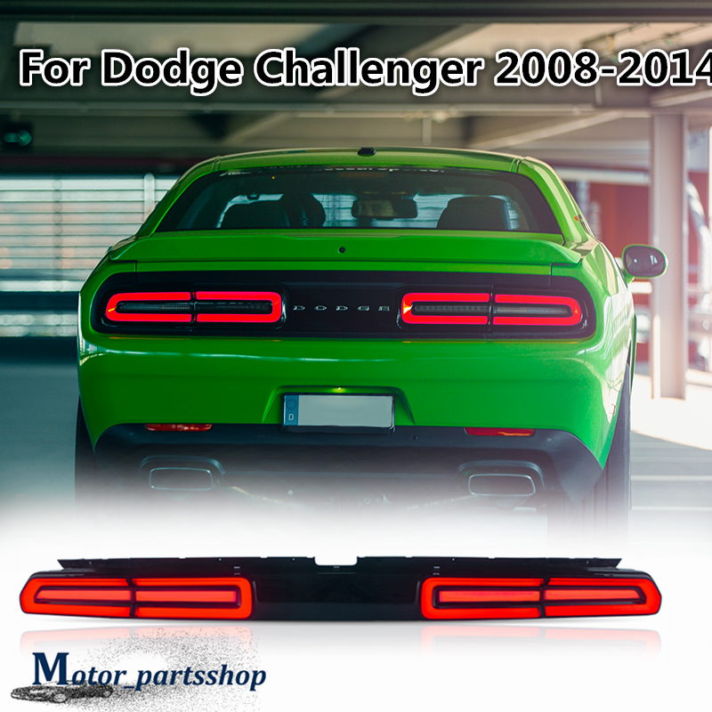 2008-2014 Dodge Challenger Sequential Tail Lights Kit