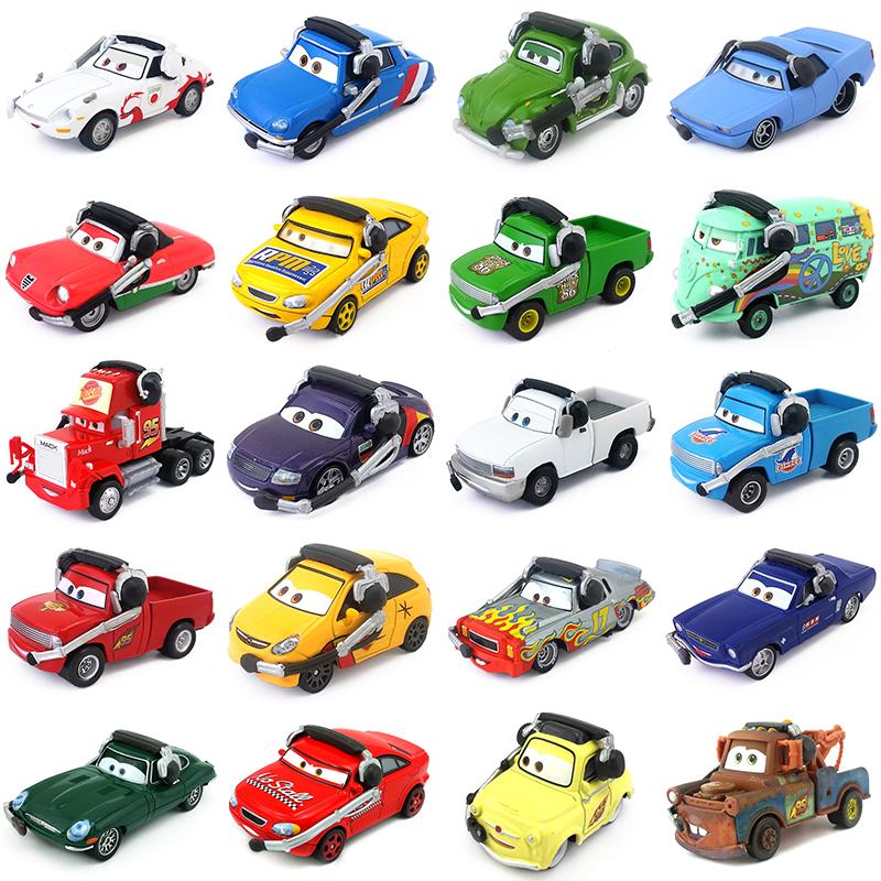 Disney Pixar Cars Command Cars Toy Car 1 55 Diecast Loose New Boys