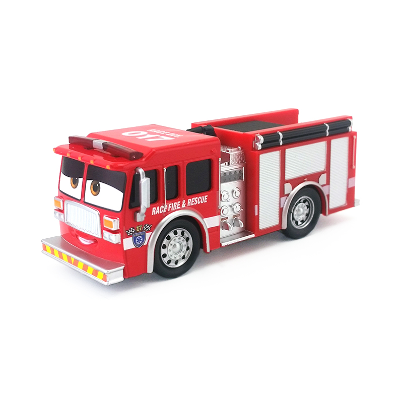 Details about Disney Pixar Cars 3 No 017 Fire Truck Tiny LugsWorth Diecast  Toy Model