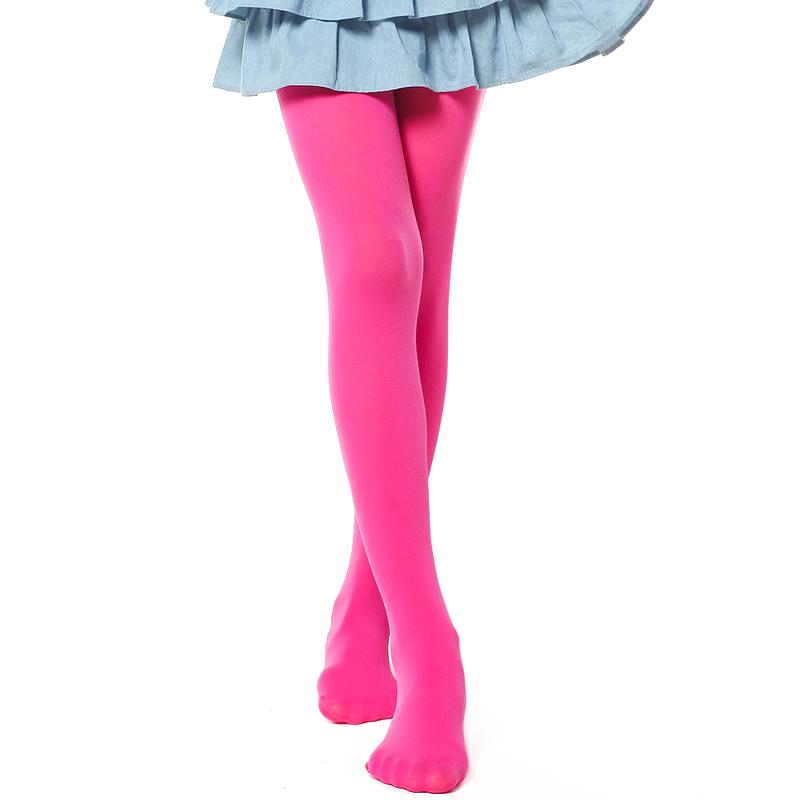 Girls Velvet Pantyhose Pants Stockings Foot Tights Dancing Socks Hose Ballet Kid