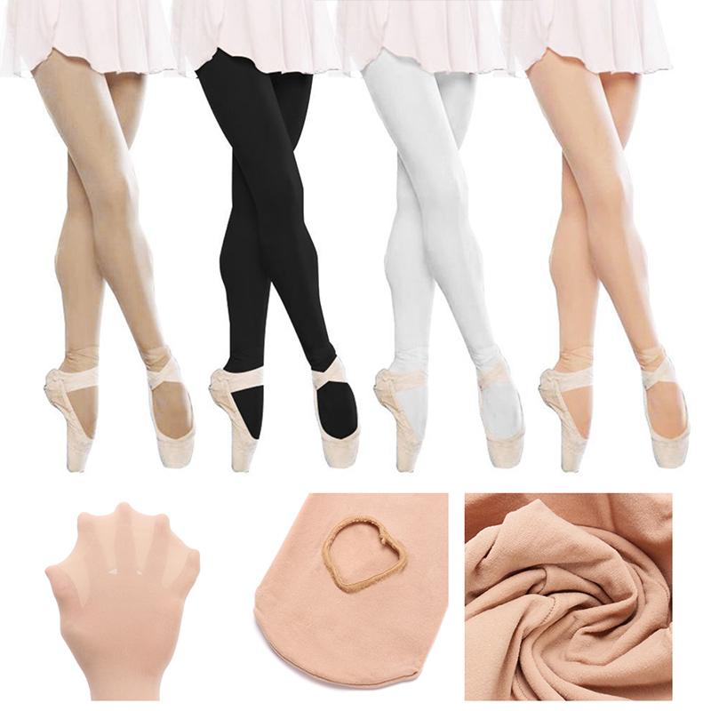 Girl Women Ballet Dance Convertible Stockings Pantyhose Tights Opaque 150-170cm