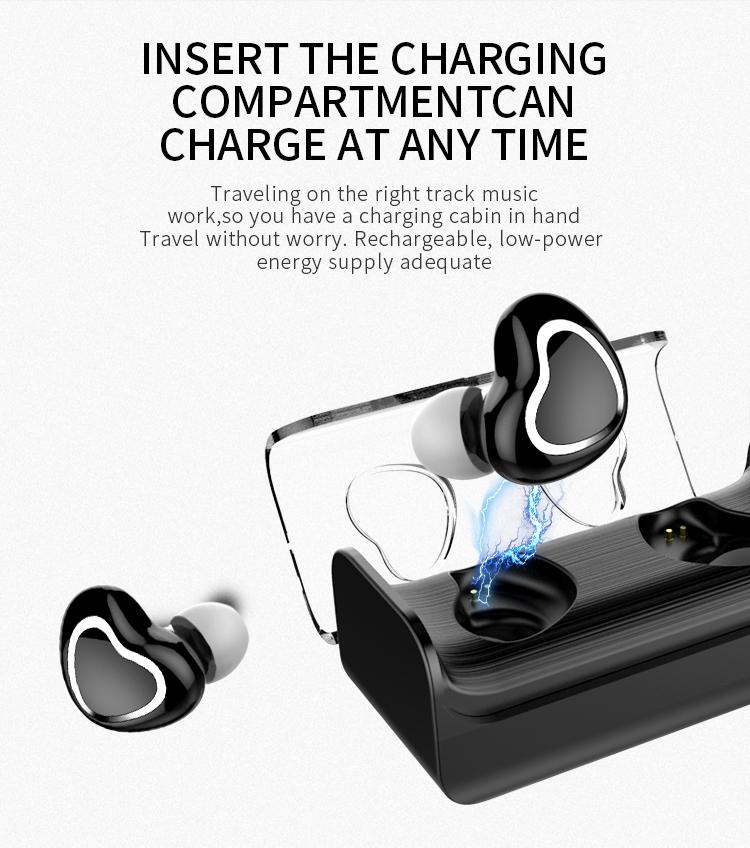 Tws 7 Wireless Bluetooth Stereo In Ear Sport Headset Earphone For