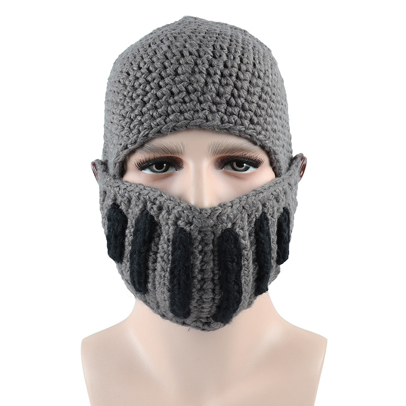 Men-Women-Knit-Keep-Warm-Winter-is-Coming-Hats-Funny-Party-Ski-Game-Mask-Beanies miniature 9