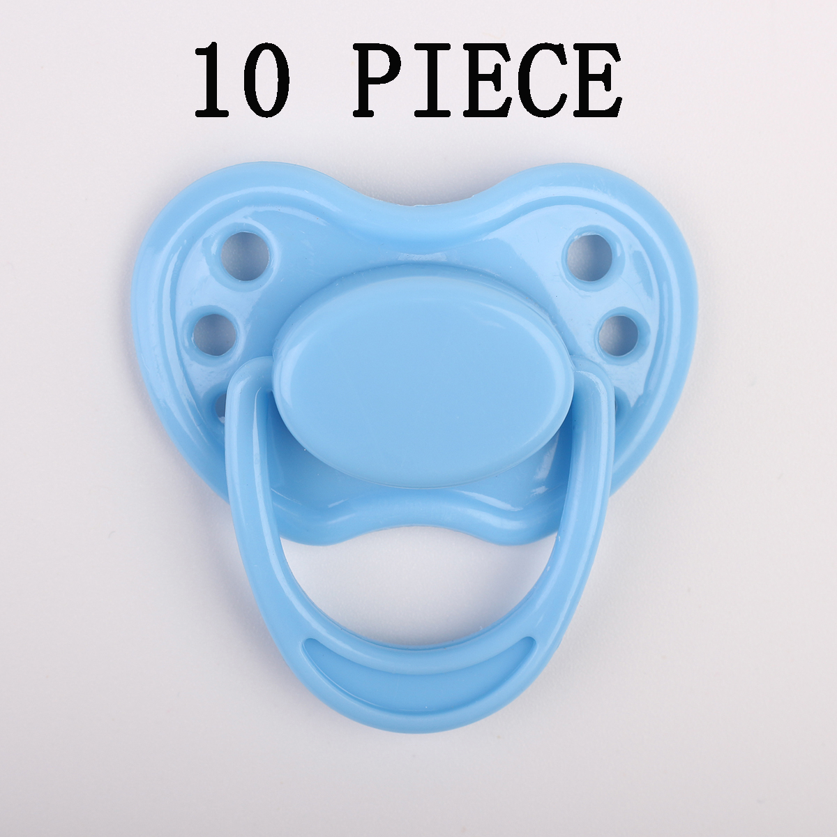 Blue Dummy Magnetic Pacifier with Magnetic Reborn Baby Dolls toy Accessories