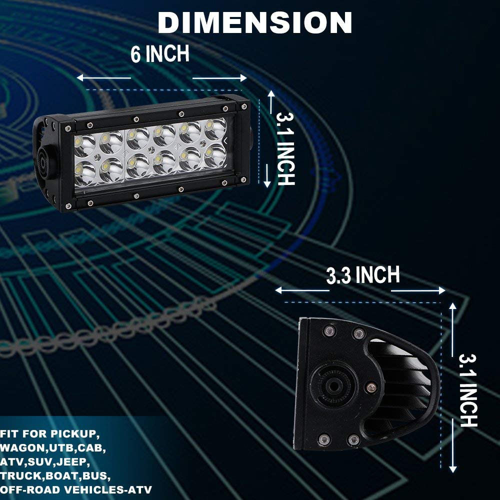 For Suzuki Z400 6 Led Light Bar Driving Work Lights Mounting Ltz400 Wiring Harness Product View