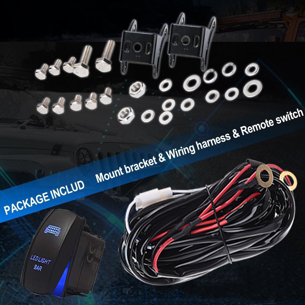 Ezgo Wire Harness Cable Wiring Factory Style Golf Cart Full Inch Led Light Bar Xcube 1000x1000