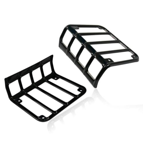 2x Led Tail Light Black With Clear Lens For 07 18 Jeep Wrangler Jk