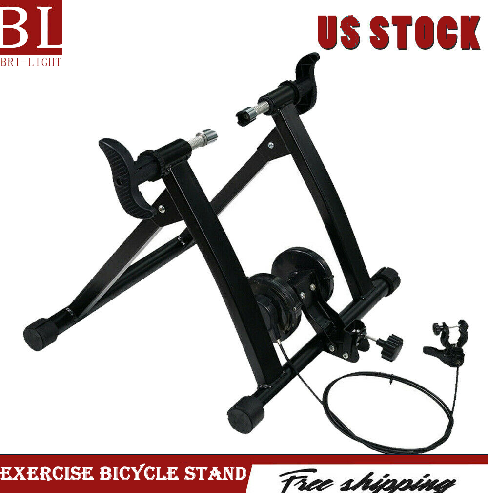 Fluid Bike Trainer >> Details About New Fluid Bike Trainer Smooth Fluid Resistance Indoor Exercise Bicycle Stand