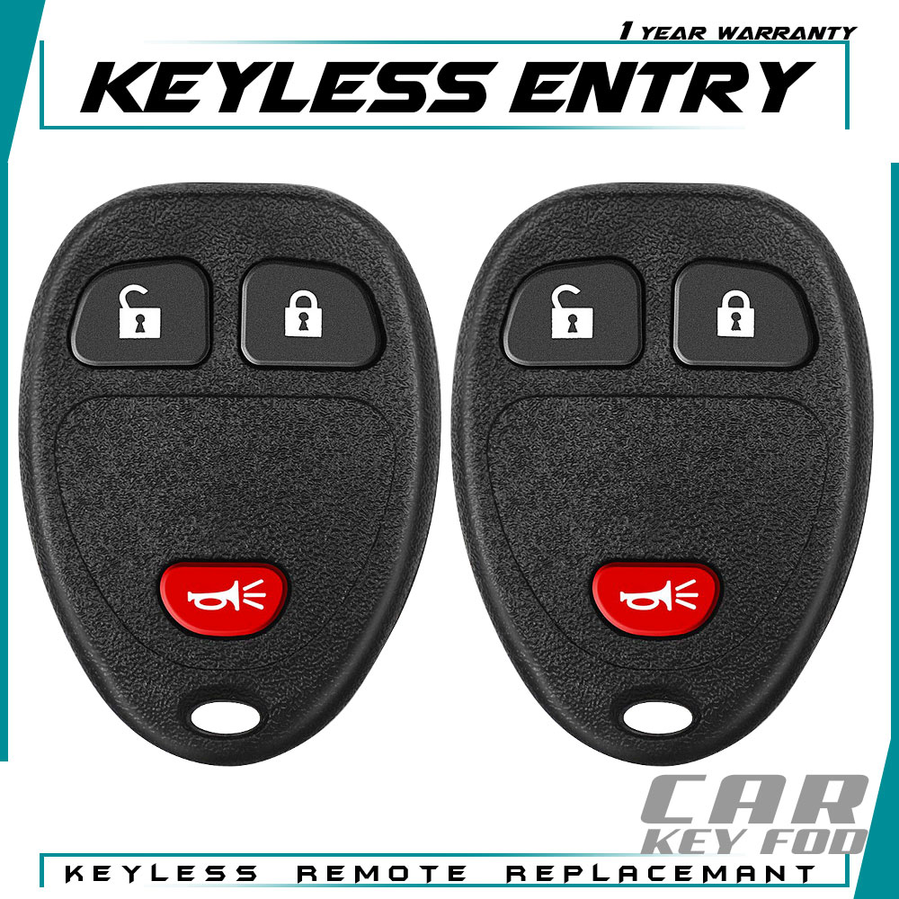 New Key Fob Remote Shell Case For a 2014 Chevrolet Captiva Sport w// 3 Buttons