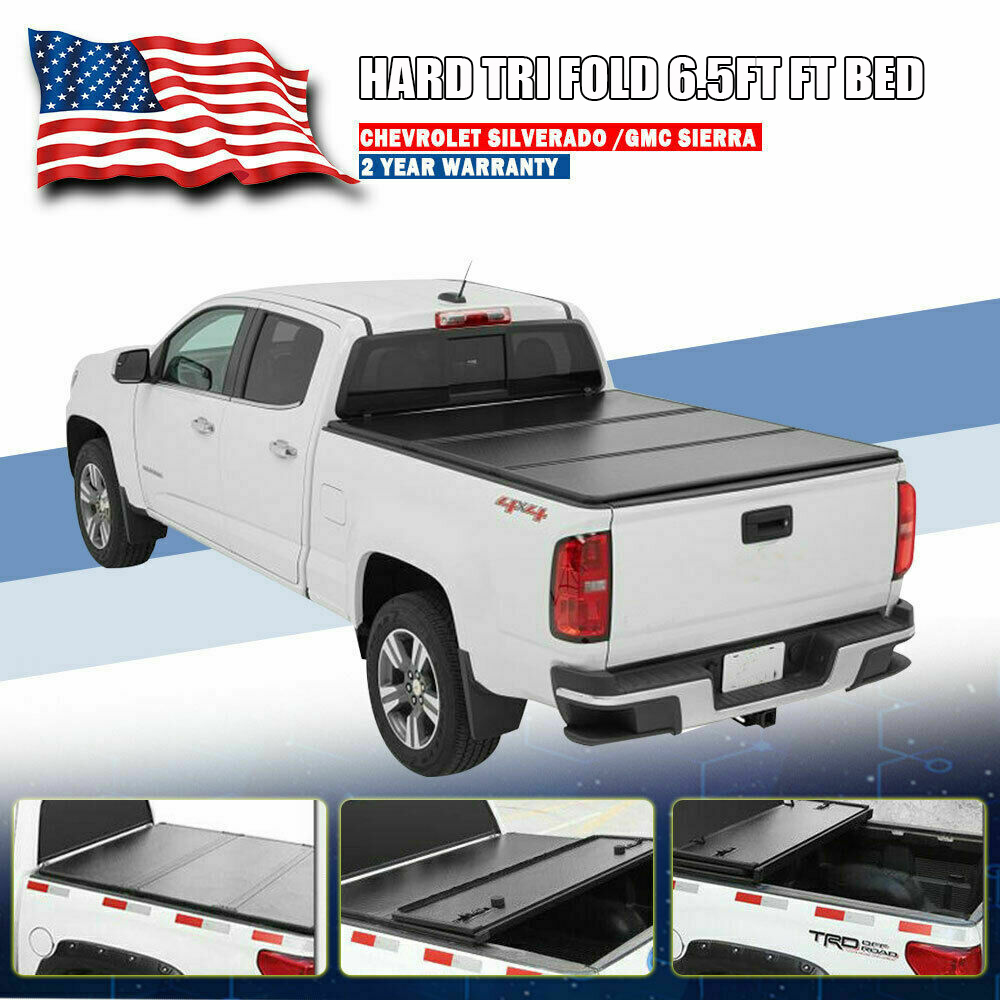 New Trifold Folding Tonneau Tonno Cover Custom Fit Free Shipping Great Quality