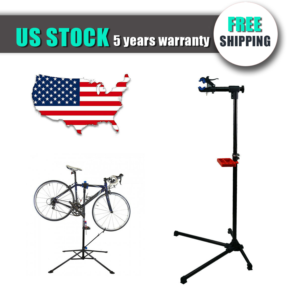 Portable Mountain Bike Bicycle Cycle Repair Workstand Maintenance Rack Stand