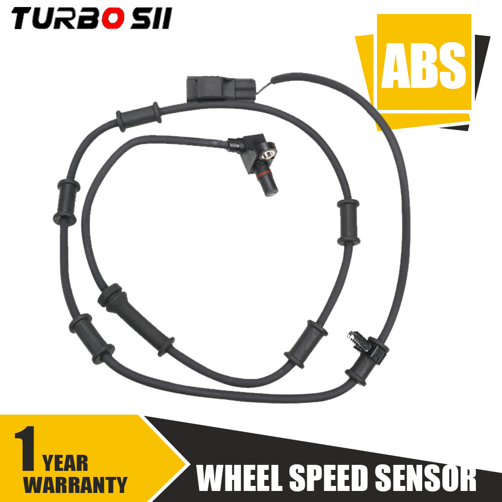 ABS Wheel Speed Sensor Front Left and Right ALS102 For 2003-2005 Dodge Ram 2500 2003-2005 Dodge Ram 3500