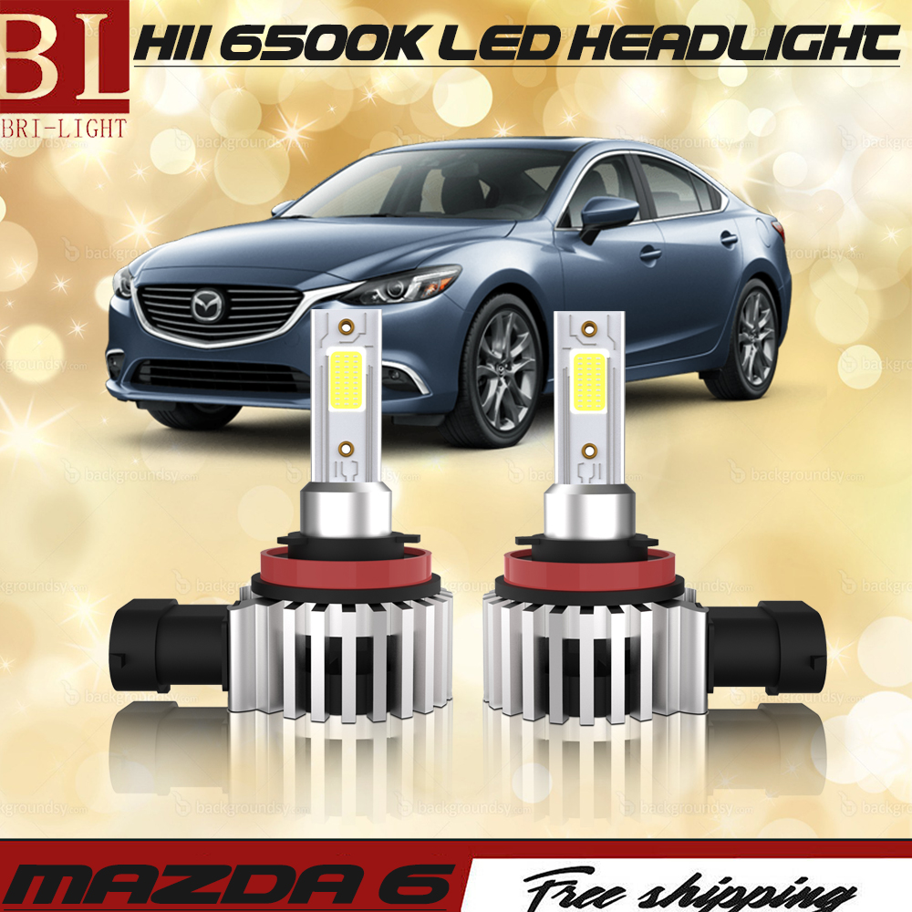 For Smart Fortwo 2004-2012 Low High Beam Xenon H7 H1 Headlight Bulbs Set Lamp