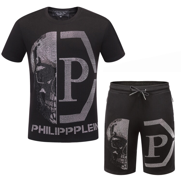 Philipp Plein Men Tracksuit White