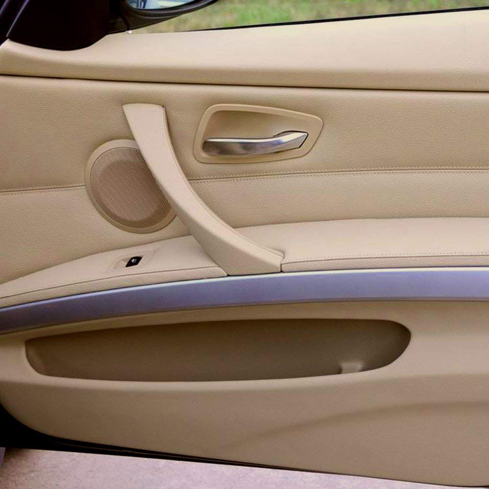 Right Inner Door Panel Handle Outer Trim Cover For BMW 2007-2011 2012  328i 335i