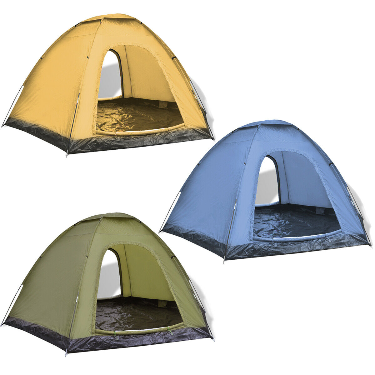 6 Person Man Family Camping Tent Outdoor Hiking Trip Sun Shelter Fishing Room