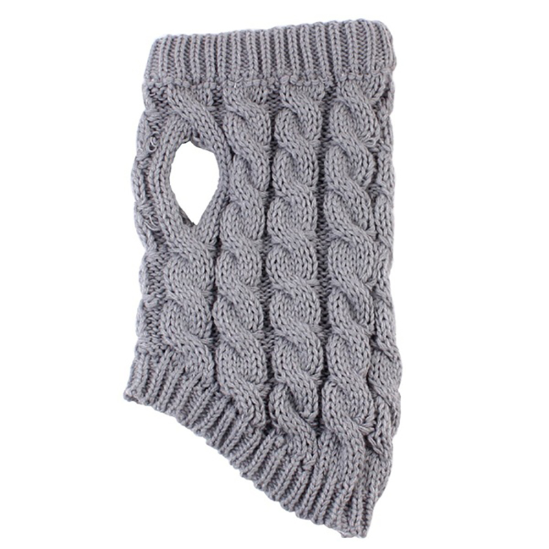 UK Fashion Knitted Puppy Dog Jumper Sweater Pet Clothes For Small Dogs Coat 8