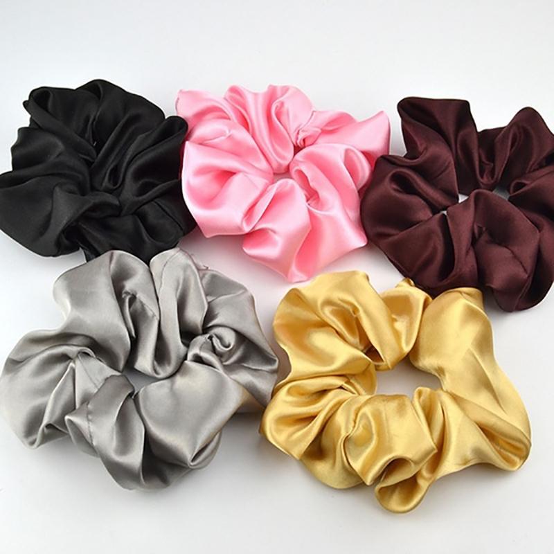 10-40 Stück Samt Scrunchies Set Elastische Haargummis Velvet Bunte Gummibän