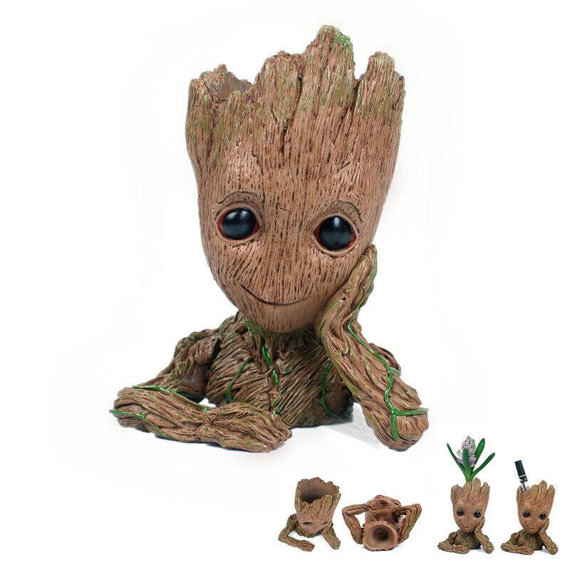 12CM Guardians of the Galaxy vol.2 Baby Groot Figur Blumentopf Stil Geschenk Box