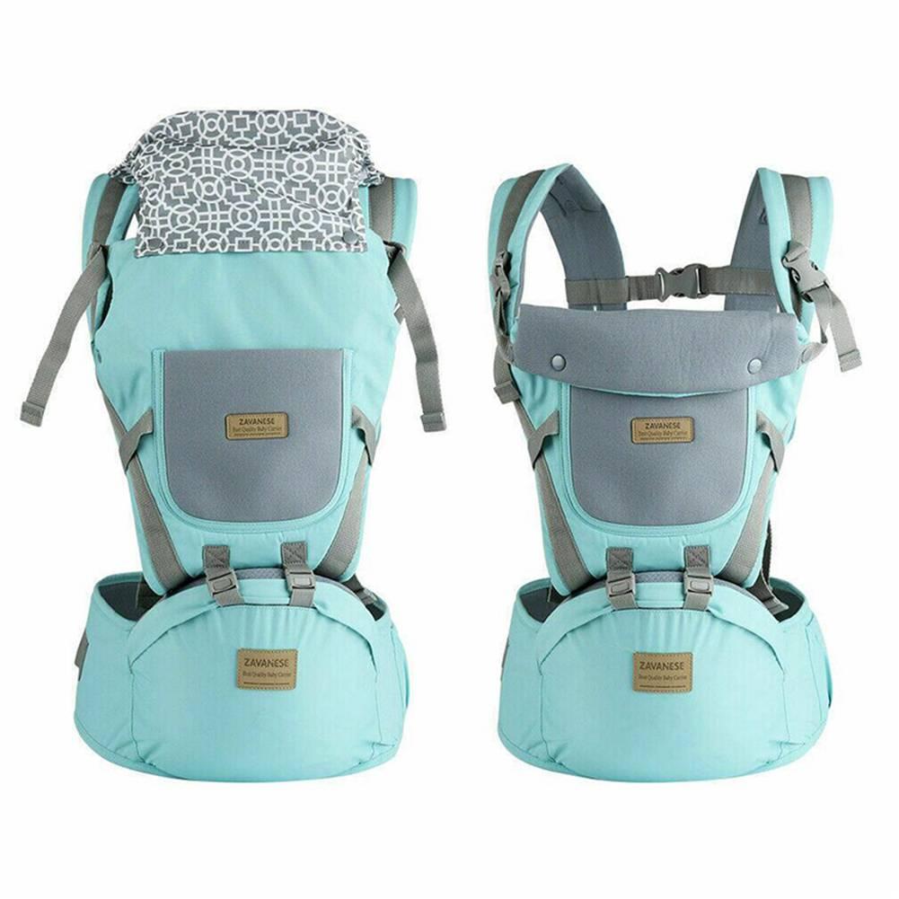 9 in1 Ergonomische Babytrage Kindertrage Bauchtrage Rückentrage 4 Tragpositionen