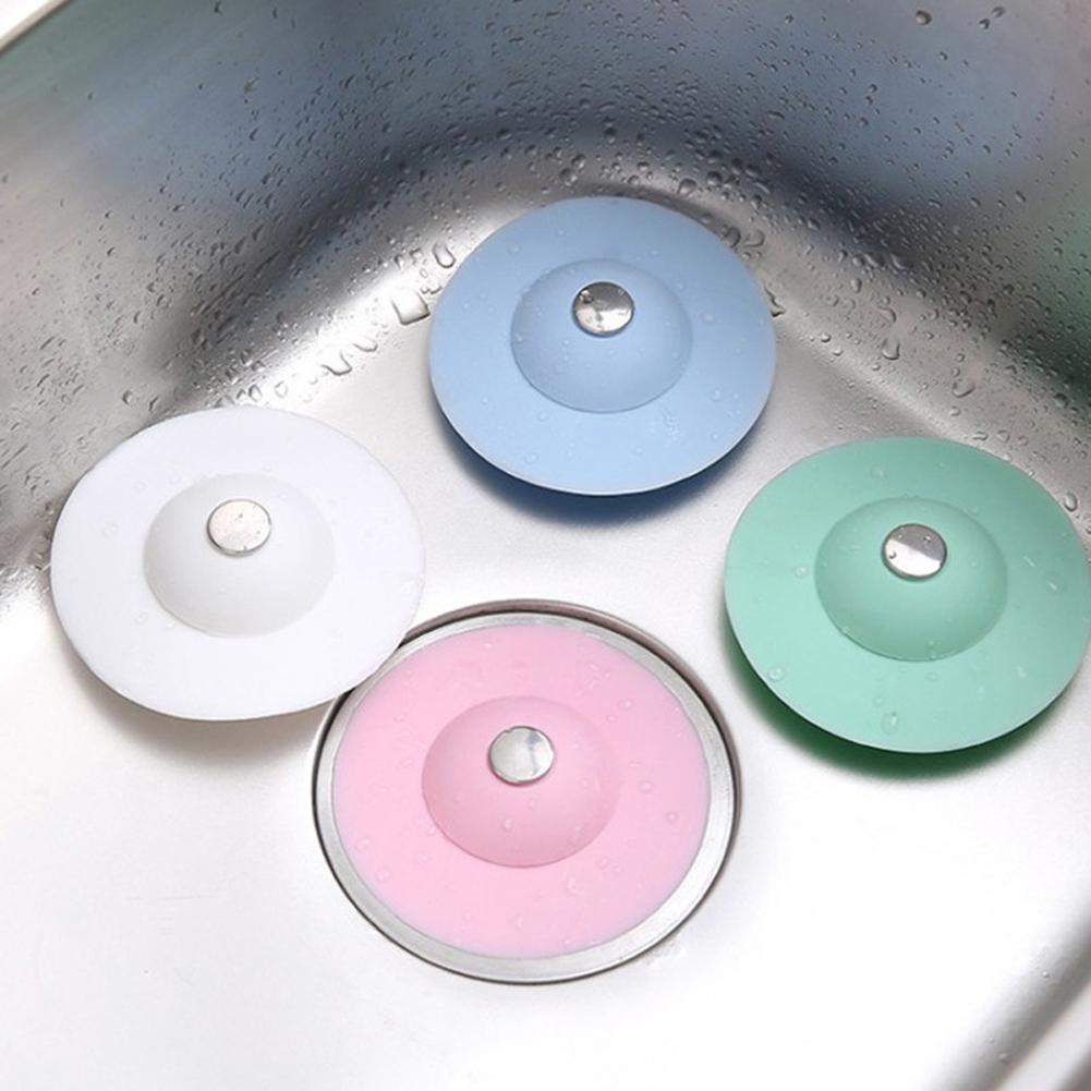 1/3Pcs Gummi Badewannen Stöpsel Waschbecken Stopfen Silikon Abfluss Küche Wasser   eBay