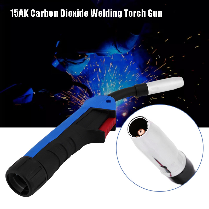 15AK Carbon Dioxide MIG//MAG Welding Torch Gun Parts Gun Head Replacement ams