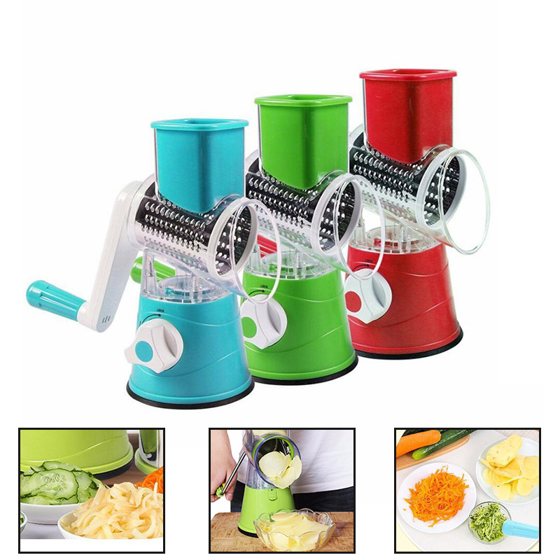 0624 Peeling Machine Vegetable Cutter Durable 2 Colors Tool Slicing Machine