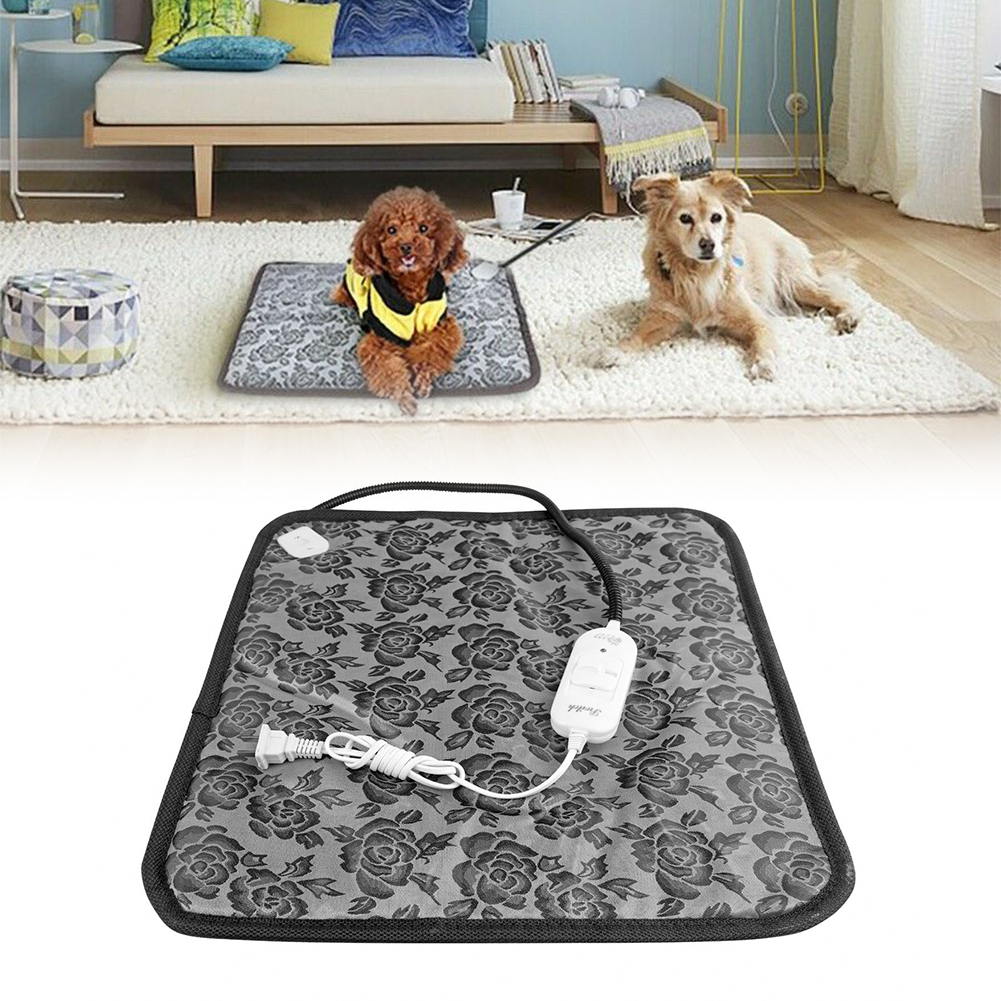 Pet Heating Pad Indoor Outdoor Cat Dog Bed Kennel Doghouse Heater