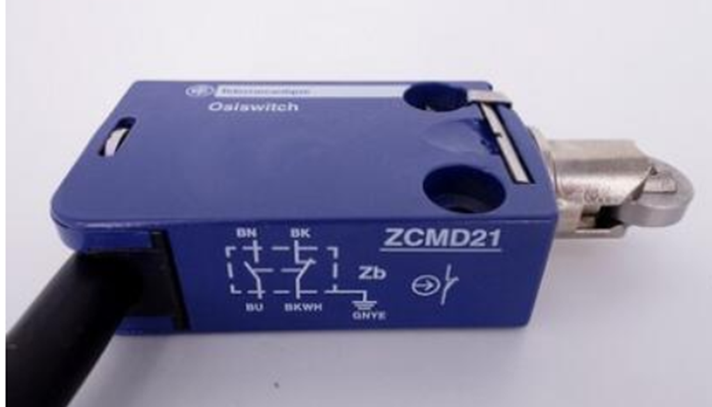 Telemecanique ZCMD21L1 Metal Limit Switch Body with ZCMD21 Series Connector and 1 m Cable for ZCE Series Actuator Head NO Snap Action Contacts 2-Pole NC