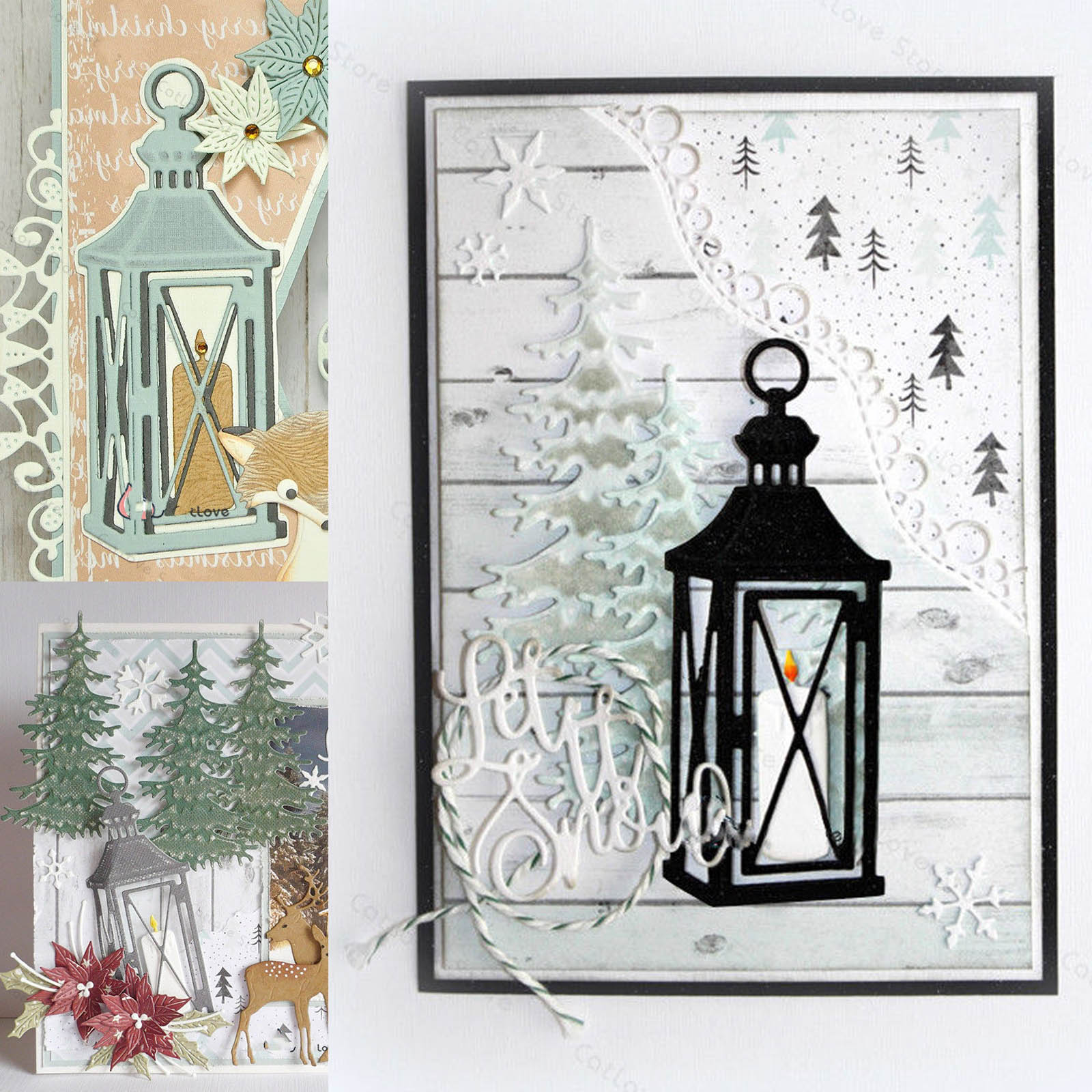 Candle Light Metal Cutting Dies Stencils Scrapbooking Decor Craft Embossing DIY