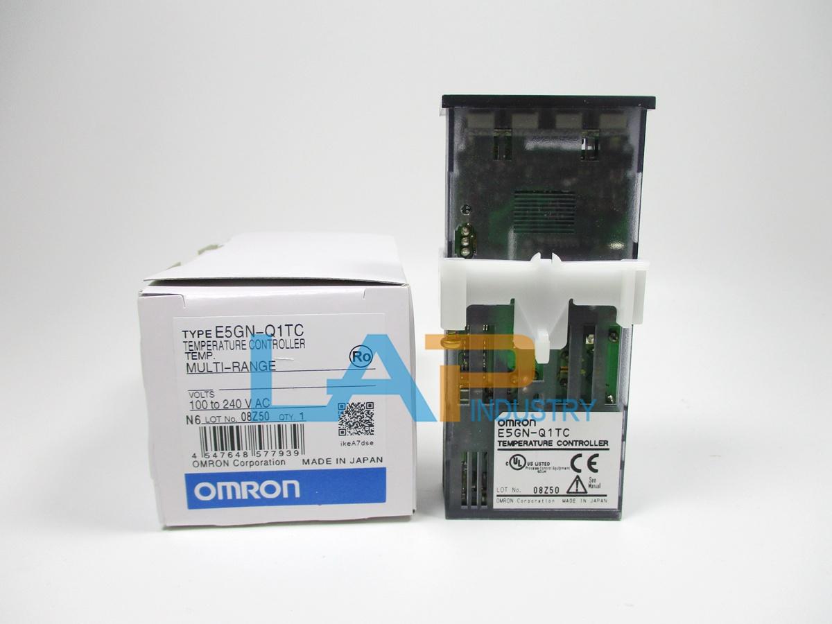 1Pc Omron E5GN-Q1TC Temperature Controller 100-240 Vac New bw