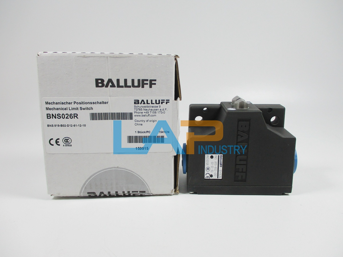 Balluff BNS-819-B02-D12-61-12-3B Mechanical Position Switch