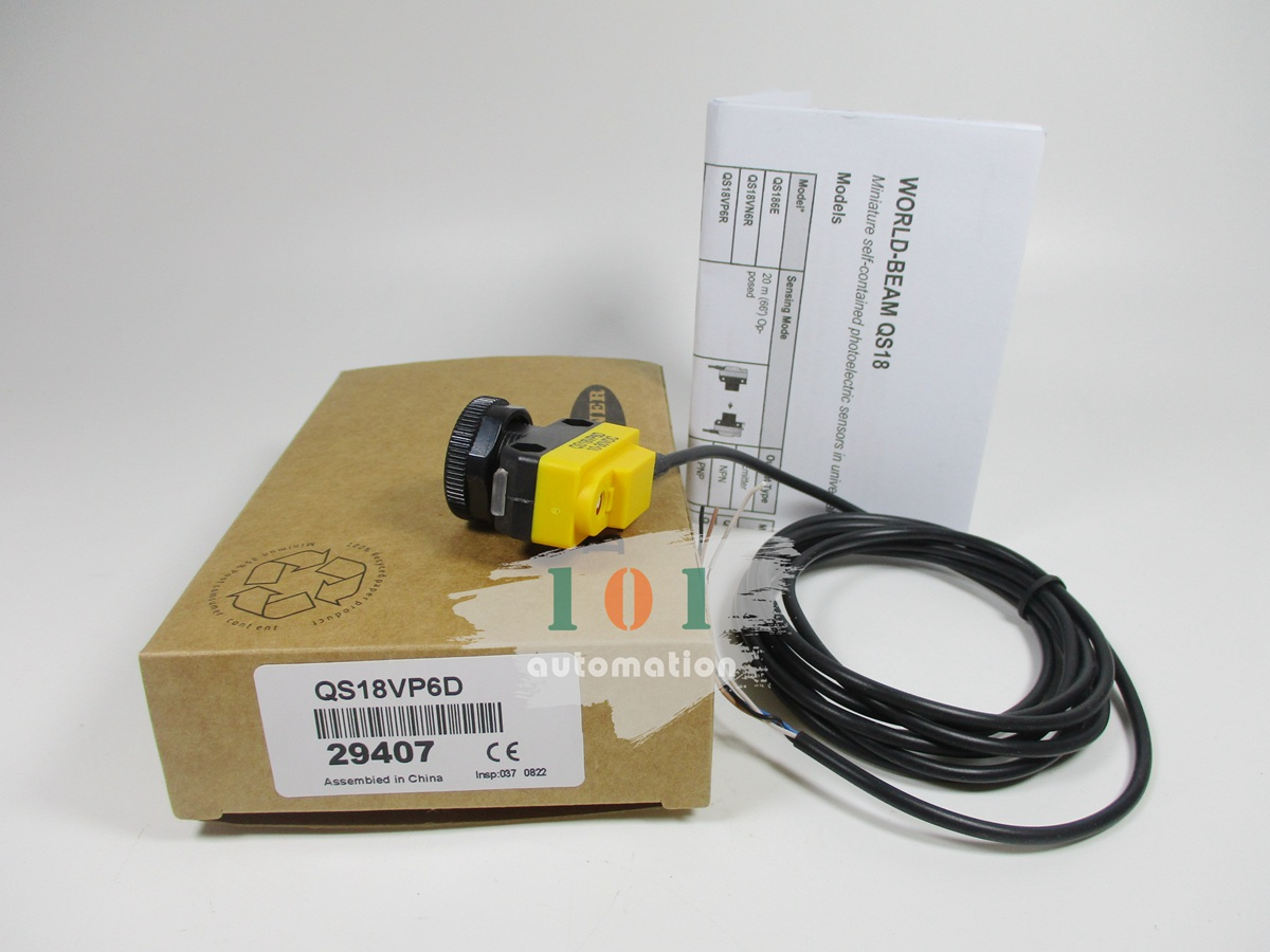 BANNER QS18VP6D Photoelectric switch