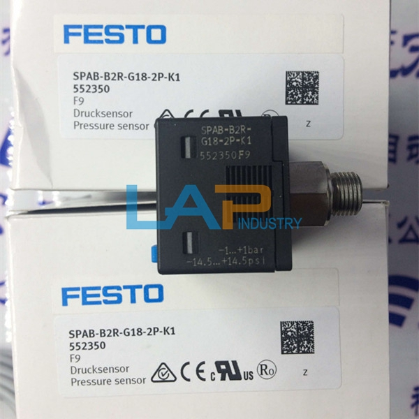 FESTO Drucksensor SPAB-B2R-G18-2P-M8 //Neu