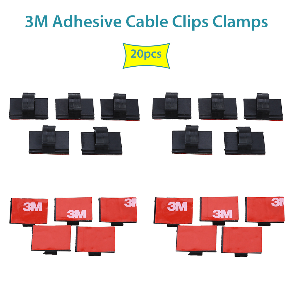 3m Adhesive Cable Clips Clamps Wire Tie Mount Drop Holder For Harness Hsmzh094 8 Car