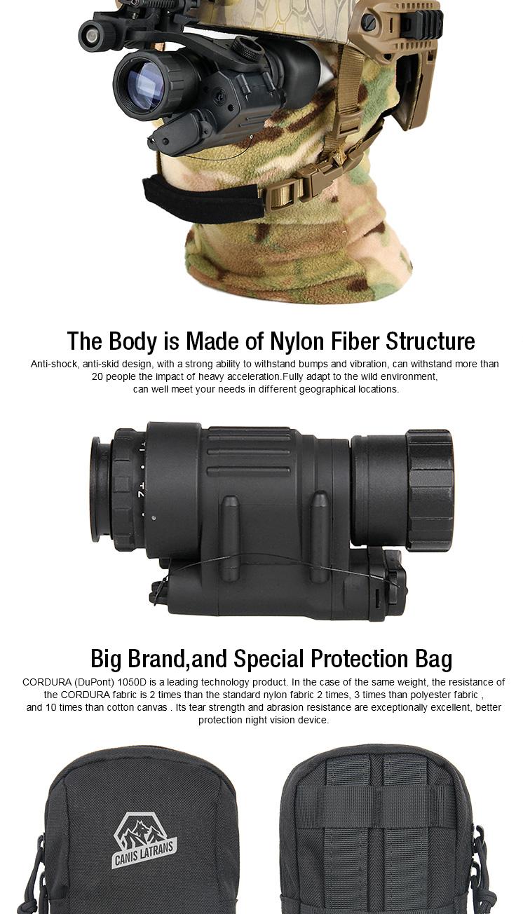 Mini Portable 2x30 Infrarot-Dark Night Vision Monokular Zielfernrohr für Gewehr