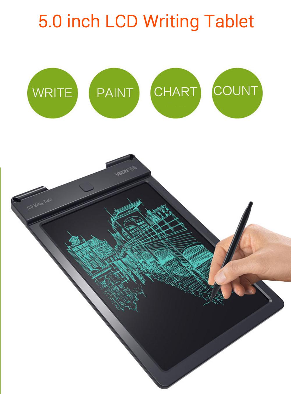 LCD Pad eWriter Learn to Write Writing Board Kids Drawing Tablet Stylus Pen UK