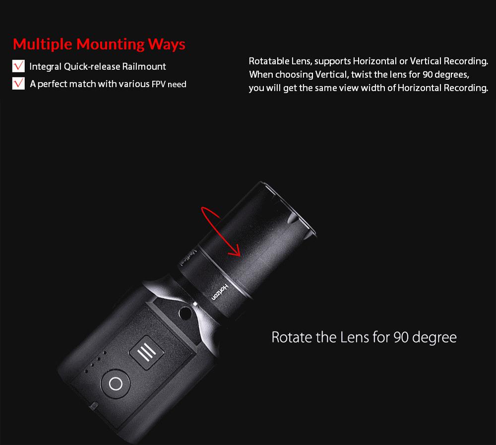 Runcam FPV Camera HD 1080p caméscope enregistreur WiFi 35mm 4MP APP pour RC IOS