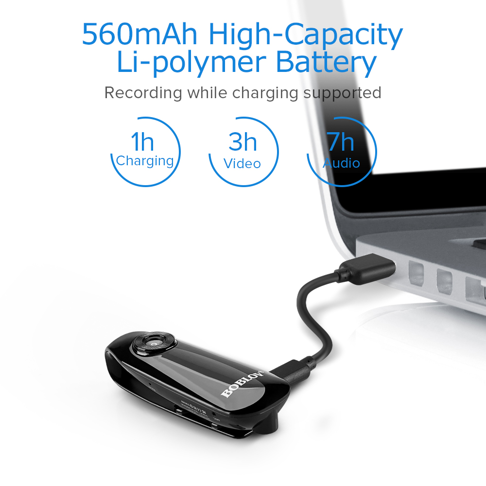 Mini A3 1080P Bike Helmet Dash Camera DVR Cam Body Worn Motorbike Video Recorder