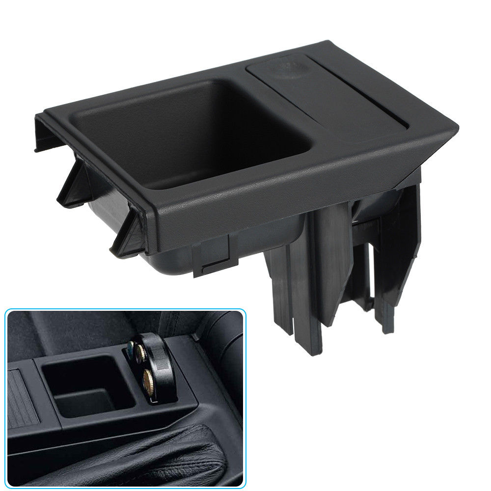 Front Center Console Drink / Cup Holder Coin Box For 1999