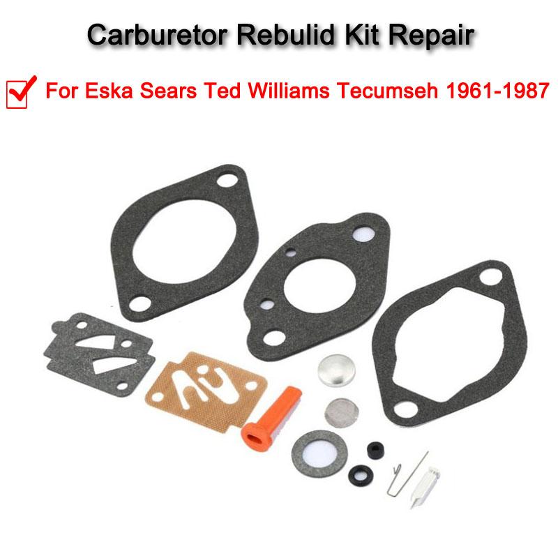 Carburetor Repair Carb Rebuild Kit For Eska Sears Ted Williams Tecums 61-87