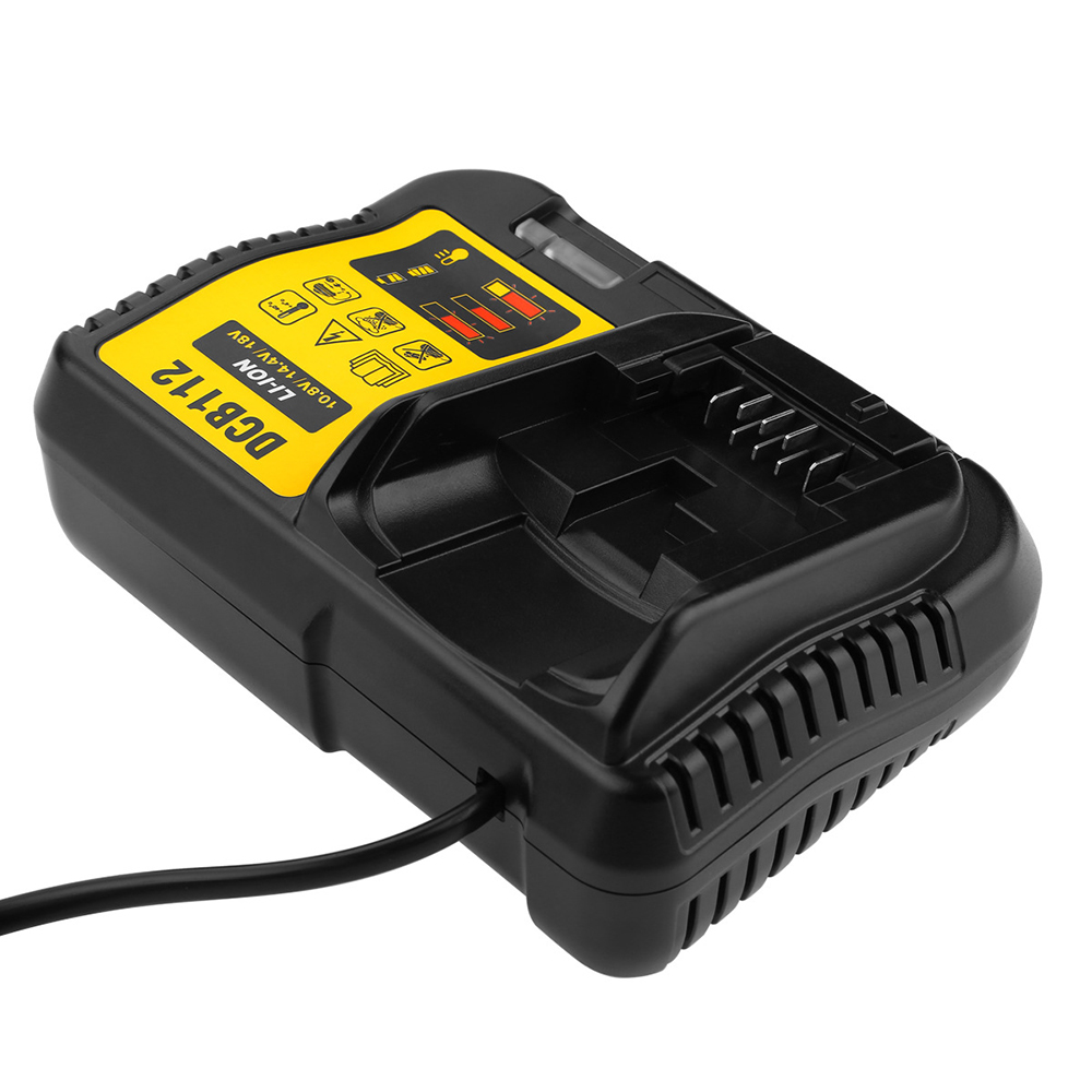 US Plug Battery Charger For Dewalt 12-20V Li-ion Batteries DCB120 DCB140 DCB112