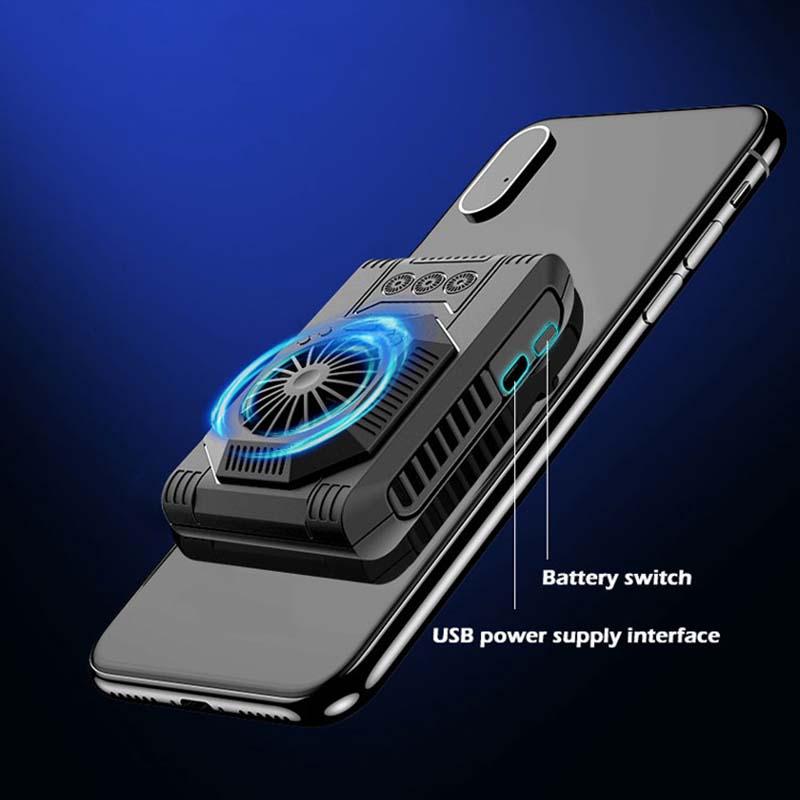 Tragbare Handy Kühler Pad Semiconductor Kühlung Kühl Pad Unterstützung Für Smartphone Tablet Lüfter Mobile Phone Coolers Aliexpress