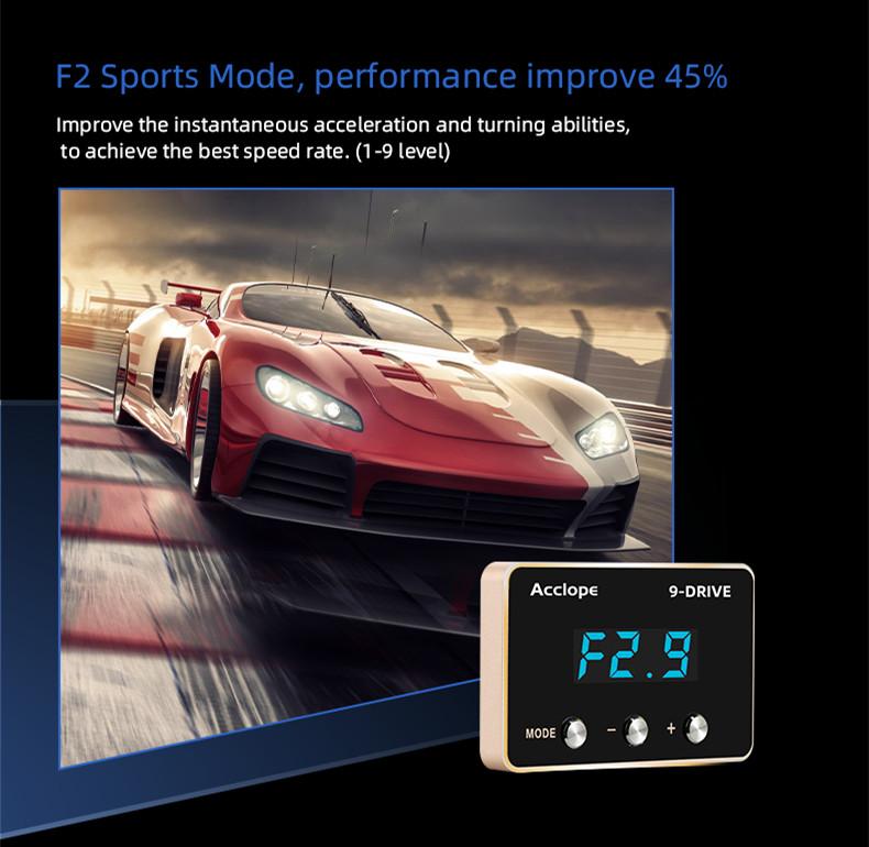 9-Mode Car Electronic Throttle Controller For Mercedes Benz B-CLASS W246 2012+